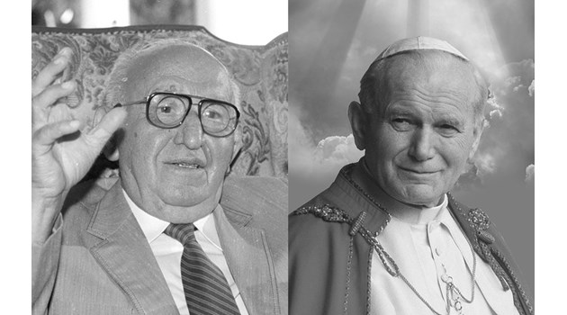 Тодор Живков и папа Йоан Павел II умират от лечение с антибиотици