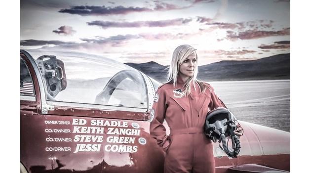 Пламъците погълнаха и убиха най-бързата жена в света. Световноизвестната американка загина при странни обстоятелства в пустинята