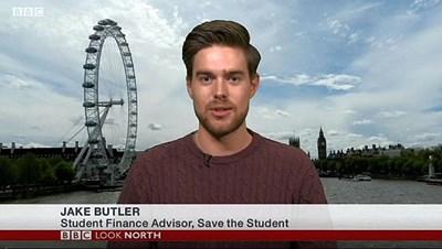 """Заради пандемията жизненоважни източници за препитание за млади хора в Англия са застрашени, казва Джейк Бътлър, финансов консултант от """"Спаси студента""""."""