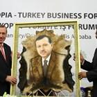 През 2015 г. Реджеп Ердоган посети редица африкански страни, като обиколката му започна от Етиопия.
