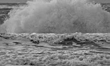 Плажовете в Слънчев бряг и в Несебър опустошени