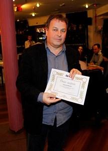 "Москов получава ""Оная награда"" - вътрешния приз на вестник ""24 часа""."