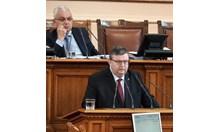 Цацаров: Пълна измама е, че правилата за контрол на тримата големи се правят, за да се отстрани Панов