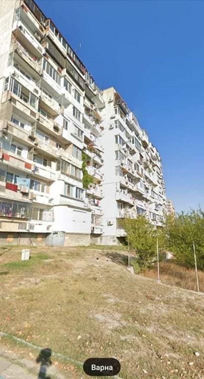 Мъжът във Варна стрелял по деца, защото брали от черешата пред блока (Снимки)
