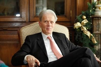 Ерик Льобедел е посланик на Париж в София от ноември. СНИМКА: Йордан Симeонов