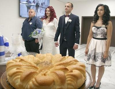 Елена и Явор се врекоха на късметлийската дата СНИМКА: Евгени Цветков