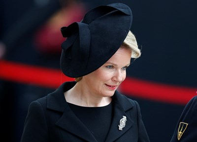 Белгийската кралица СНИМКИ: Ройтерс