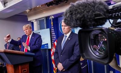 Доналд Тръмп и Майк Пенс СНИМКА: Ройтерс