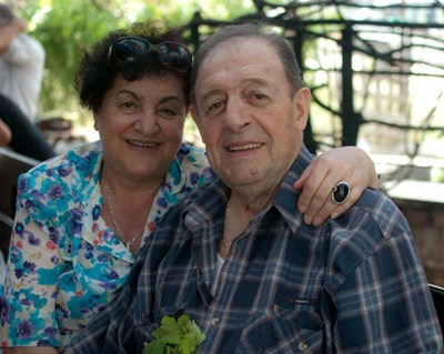 Незабравка Икономова и съпругът  Борислав преди година и половина