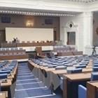 Парламентът преди да пристигнат народните представители.  СНИМКА: Йордан Симеонов