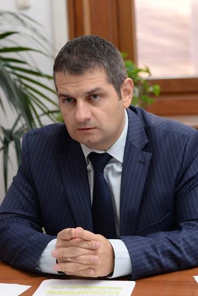 Евгени Стоянов - заместник-министър на правосъдието СНИМКА: Йордан Симeонов