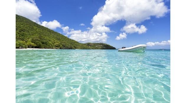 Едно от местата по света - райският остров Сейнт Джон