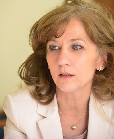 Заместник-министърката на труда и социалната политика Росица Димитрова СНИМКА: Йордан Симеонов