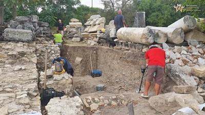 Проучванията на форумния площад в древния град се провеждат за 5-а година