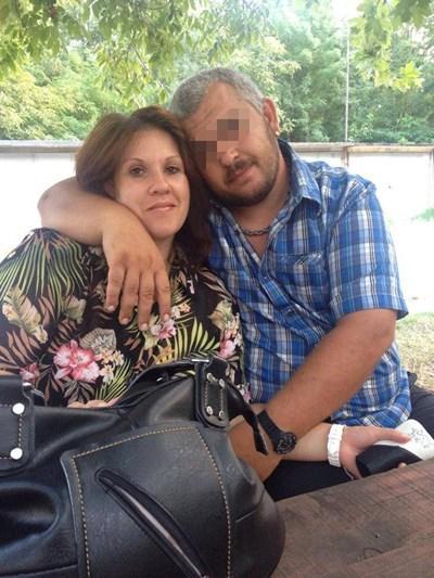 Венелина Петкова със съпруга си Христо