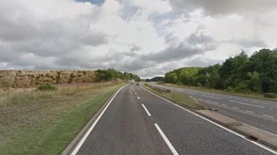 Път А90 Снимка: Google Street View