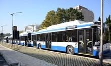 Пуснаха климатиците в градския транспорт в София