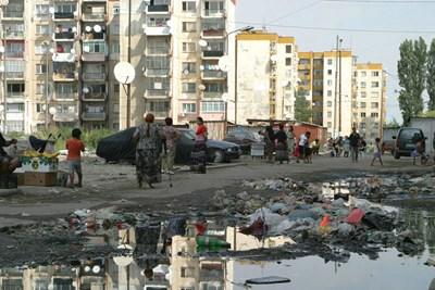 """Голяма част от жителите на """"Столипиново"""" изоставиха квартала."""