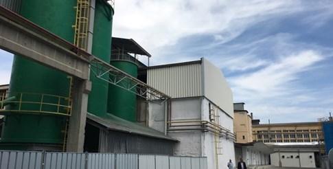 Стъкларският завод в Пловдив.