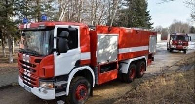 Екипи на пожарната служба в Търговище продължават гасенето СНИМКА: Архив