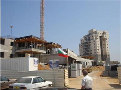 В Израел има мощен подем на жилищното строителство. Затова той разчита на работна ръка от България. СНИМКИ: АГЕНЦИЯ ПО ЗАЕТОСТТА