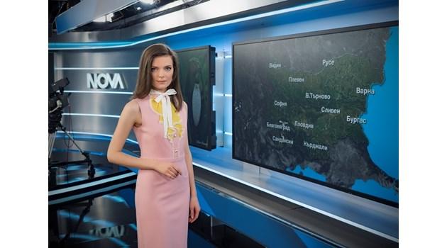 Нора Шопова, която смени Деси Банова в ефир: Мога и да съм първа дама, ако приятелят ми стане президент