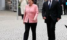 """Меркел: Ти, Бойко, трябва да останеш медиатор по темата """"Западни Балкани"""" (Снимки+Видео)"""