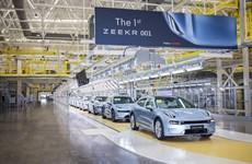Китайски конкурент на Tesla пусна първия си модел със 712 км пробег
