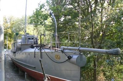 """Корабът """"Дръзки"""" е изложен във Военноморския музей на Варна."""