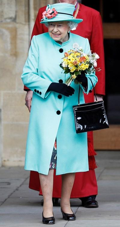 Kралица Елизабет Втора  Снимка : Ройтерс