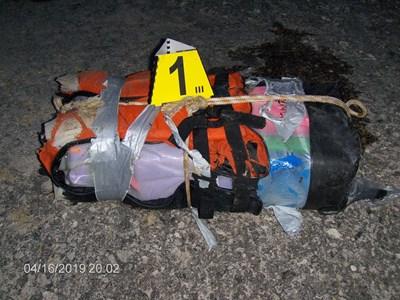 Това е последната жилетка с кокаин, която изплува във вторник до Каварна.