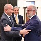 Илхан Кючюк в Северна Македония месец преди решаващия Евросъвет