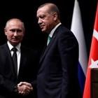 Руският президент Владимир Путин и турският му колега Реджеп Ердоган СНИМКА: Ройтерс
