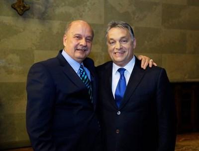 Георги Марков и Виктор Орбан СНИМКА: Фейсбук