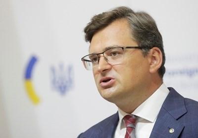 Украинският министър на външните работи Дмитро Кулеба СНИМКА: Ройтерс