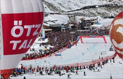 Домакините от Зьолден очакват времето за състезанията в събота и неделя да бъде хубаво за първи път от 2016 г.