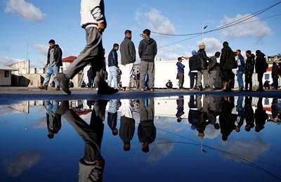 Бежански лагер СНИМКА: Ройтерс