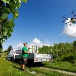 Дроновете намират все по-широко приложение в селското стопанство.