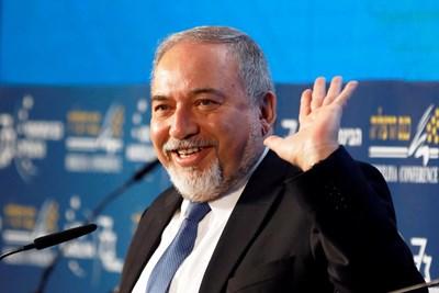Министърът на отбраната на Израел Авигдор Либерман СНИМКА: Ройтерс