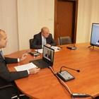 """Радев участва в събитието на високо равнище на ООН на тема """"Финансиране на развитието в епохата на COVID-19 и отвъд"""", което се осъществи чрез видеоконферентна връзка. Снимки прессекретариат на президента"""