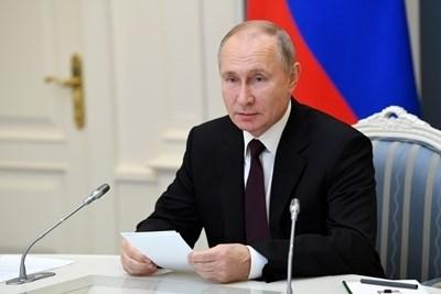 Путин внесе днес в Държавната дума законопроект за удължаване с пет години на срока на договора Нов СТАРТ. СНИМКА: Ройтерс