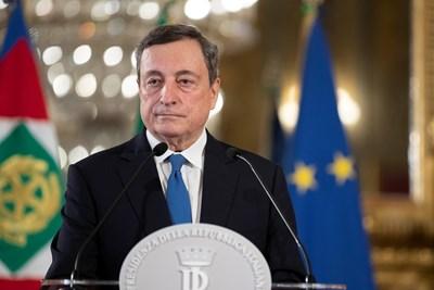 Марио Драги е бивш шеф на ЕЦБ. СНИМКИ: РОЙТЕРС