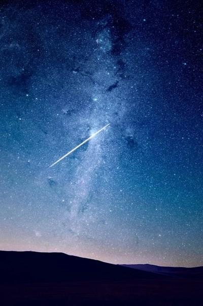 Снимката е илюстративна за метеорит СНИМКА: Пиксабей