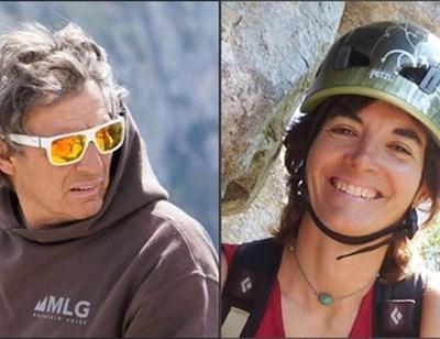 Калина Дамянова и Марио Кастильони СНИМКА: Фейсбук на Калина Дамянова и от агенцията за планински реходи МGL Mountain Guide