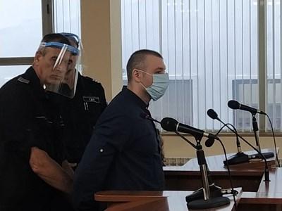 34-годишният Здравко Дечкин е обвинен за убийството на милионерката СНИМКА: Анелия Перчева