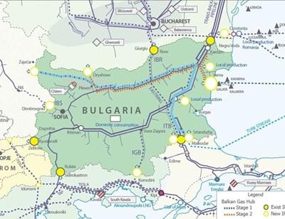 "Първи газ за хъба ""Балкан"" през 2020 г."