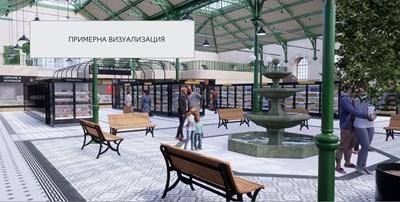 """Вътрешното пространство ще се трансформира така, че да отговаря на нуждите на съвременното пазаруване, предвижда идейният проект на """"Кауфланд""""."""