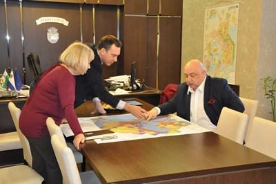b5f596c3830 Красен Кралев на работно посещение в Бургас СНИМКА: пресцентър на  Министерството на спорта