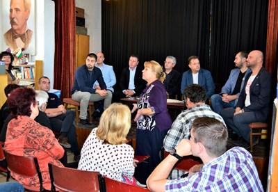 Срещата с Даниел Панов и депутата Станислав Стоянов донесе много добри новини за жителите на Старо Търново