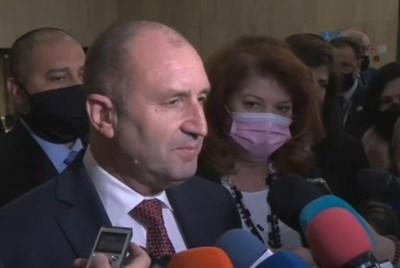 Румен Радев КАДЪР: БНТ